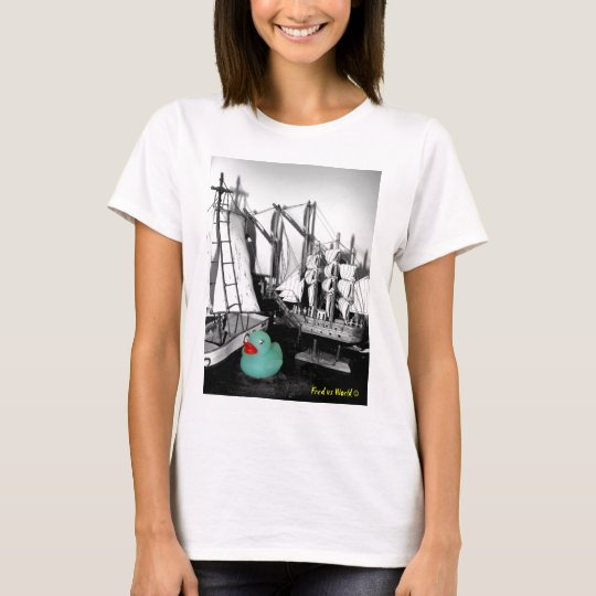 """Down by the Seaside"" Rubber Duck Tshirt"