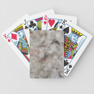Down Comforter Feathers Photography Funny Bicycle Playing Cards