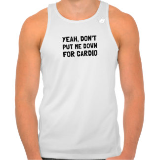 Down For Cardio Tank Top