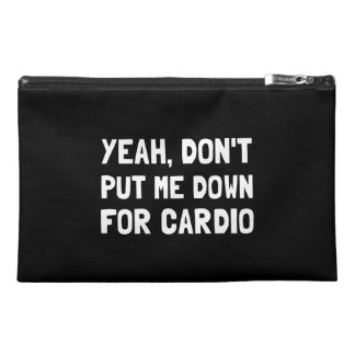 Down For Cardio Travel Accessories Bag