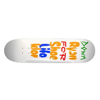 Down For Life Ryan Sheckler Skateboard Deck