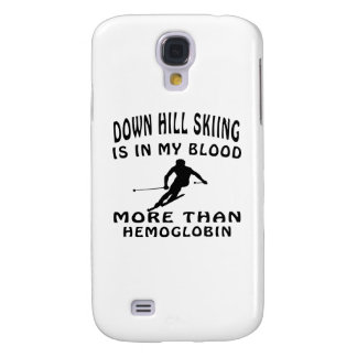 Down Hill Skiing designs Galaxy S4 Cover