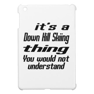 Down Hill Skiing THING DESIGNS iPad Mini Cover