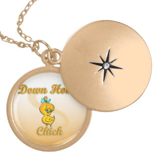 Down Home Chick Locket Necklace