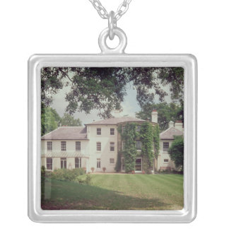 Down House, the home of Charles Darwin Silver Plated Necklace
