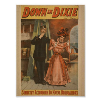 Down in Dixie Posters
