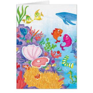 Down In The Ocean Card