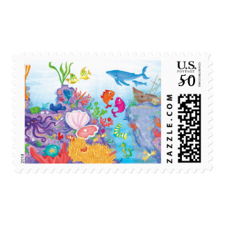 Down In The Ocean Postage