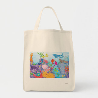 Down In The Ocean Tote Bag