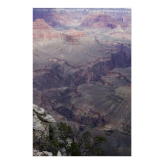 Down into the Grand Canyon Poster