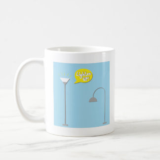 down lighter coffee mug