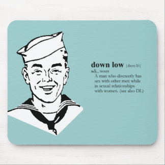 DOWN LOW MOUSE PAD