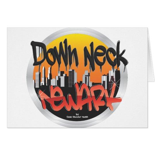 down neck newark card