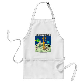 Down On Squid Roe Funny Gifts Tees & Collectibles Adult Apron