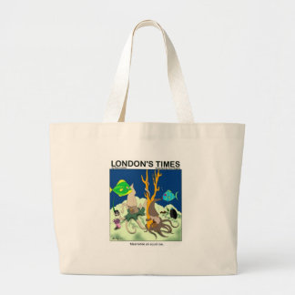 Down On Squid Roe Funny Gifts Tees & Collectibles Large Tote Bag