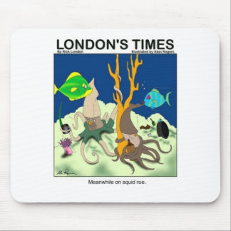 Down On Squid Roe Funny Gifts Tees & Collectibles Mouse Pad