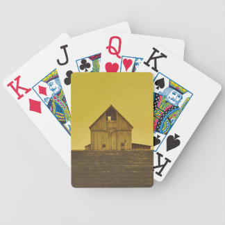 down on the farm bicycle playing cards