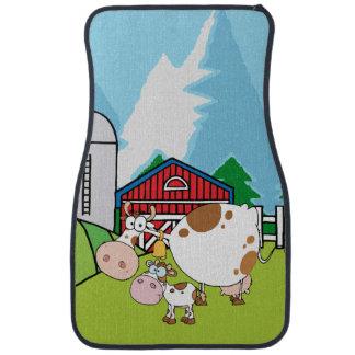 Down on the Farm Cows Floor Mat
