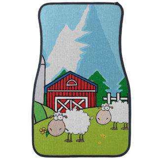 Down on the Farm Sheep Floor Mat