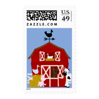 Down On the Farm Stamp