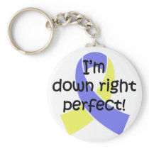Down Right Perfect, Down Syndrome Awareness Keychain