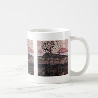 Down-Sun By Schiele Egon Coffee Mug