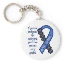 Down Syndrome Advocacy #1 Keychain