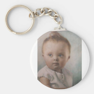 Down Syndrome Angel. Keychain