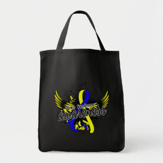 Down Syndrome Awareness 16 Grocery Tote Bag