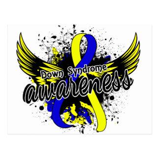 Down Syndrome Awareness 16 Postcard