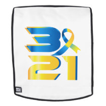 Down Syndrome Awareness 21 Backpack