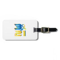 Down Syndrome Awareness 21 Bag Tag
