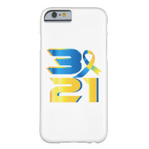 Down Syndrome Awareness 21 Barely There iPhone 6 Case
