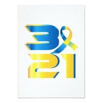 Down Syndrome Awareness 21 Card