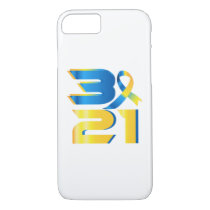 Down Syndrome Awareness 21 iPhone 8/7 Case