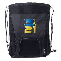 Down Syndrome Awareness 21 Drawstring Backpack