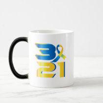 Down Syndrome Awareness 21 Magic Mug