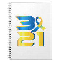 Down Syndrome Awareness 21 Notebook