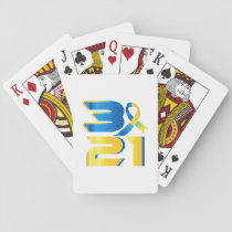 Down Syndrome Awareness 21 Playing Cards
