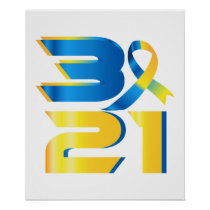 Down Syndrome Awareness 21 Poster