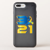 Down Syndrome Awareness 21 Speck iPhone Case