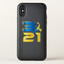 Down Syndrome Awareness 21 Speck iPhone X Case