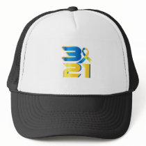 Down Syndrome Awareness 21 Trucker Hat