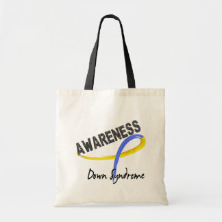 Down Syndrome Awareness 3 Budget Tote Bag