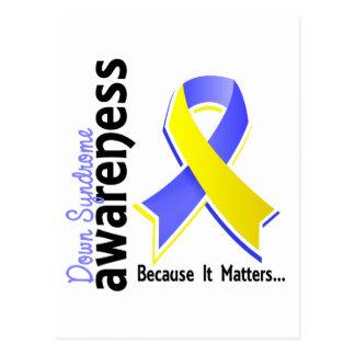 Down Syndrome Awareness 5 Postcard
