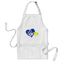 Down Syndrome Awareness Adult Apron