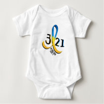 Down Syndrome Awareness Baby Bodysuit