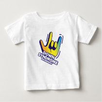 Down Syndrome Awareness Baby T-Shirt