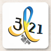 Down Syndrome Awareness Beverage Coaster