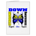 Down Syndrome Awareness Butterfly Greeting Card
